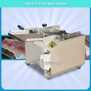 Fgb-270 Stainless Steel Automatic Fish Skin Peeling Machine pictures & photos
