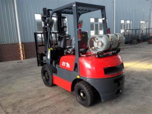 2.5ton Triplex Mast Liquefied Petroleum Gas &Gasoline Forklift pictures & photos