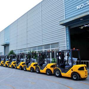 Un Diesel Forklift 2500kg Load Capacity (FD25T-JB) pictures & photos