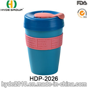12oz Plastic Single Wall Travel Mug for coffee (HDP-2026) pictures & photos