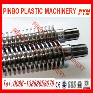 Supply Conical Twin Nitriding Screw Barrel pictures & photos