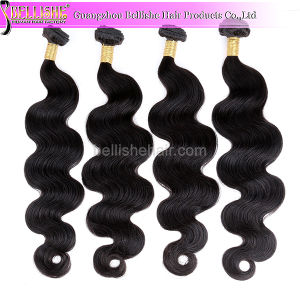 Popular Natural Balck Brazilian Human Remy Hair Extension! Body Wave Virgin Hair