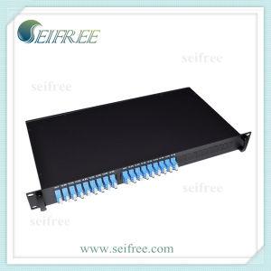 1X8 Fiber Optic PLC Splitter (19-inch rack) pictures & photos