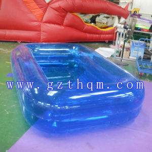 Transparent TPU Inflatable Pool/Children′s Inflatable Pool pictures & photos