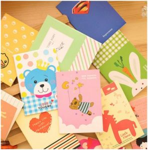 Creative Cartoon Stationery Notebook. Notepad with Soft Copy
