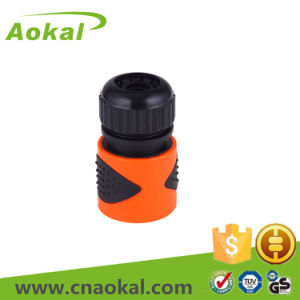 """1/2""""Plastic Wearproof Hose Connector with Stop pictures & photos"""