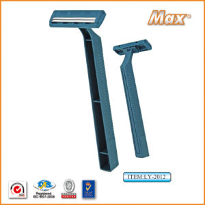 Twin Stainless Steel Blade Disposable Razor Fro Man (LY-2012) pictures & photos