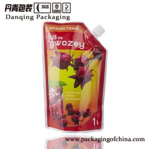 Rotogravure Printing Pouch, Plastic Packaging Bags, , Stand up Pouch for Oil / Ketchup Dq0571 pictures & photos