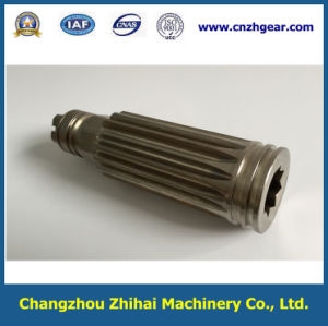 High Precision Nickel Plating Nickel Plating Gear Shaft for Actuator pictures & photos