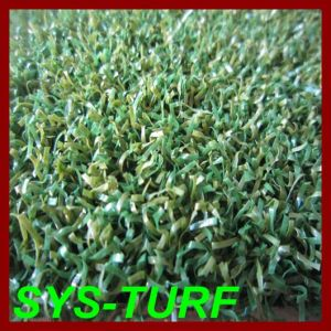 PP Curly Yarn Artificial Grass for Golf Putting Green pictures & photos