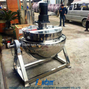 Stainless Steel Sanitary Tilting Sandwich Pot pictures & photos