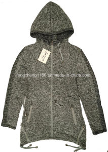 Woman Spring/Autumn Zipper Hooded Coat/Jacket pictures & photos