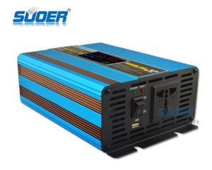 Suoer Frequency Inverter 1000W 12V 220V Inverter Charger (SUS-1000A) pictures & photos