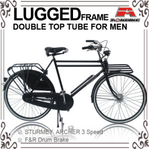 28 Inch Double Tube Inner 3 Speed Dutch Bicycle for Men (AYS-2816S) pictures & photos