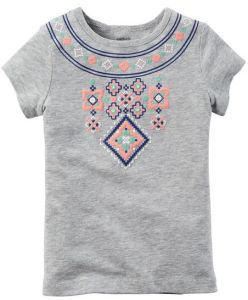 Flower Cute Girl Children′s T-Shirt in Kids Wear Clothing Sgt-086 pictures & photos