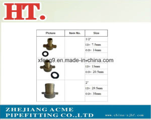 Dzr Brass Pipe Fitting with Washer pictures & photos