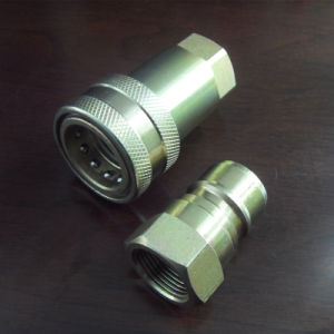 ISO 7241-a Bsp Hydraulic Quick Coupler pictures & photos