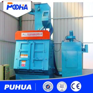 Rubber Belt Shot Blasting Machine for Blasting Small Metal Parts pictures & photos