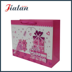 Customize 3D Gifts Valentine′s Day Shopping Carrier Gift Paper Bag pictures & photos