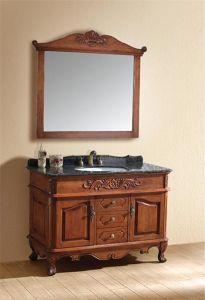 Classical Solid Wood Bathroom Cabinet Al6302