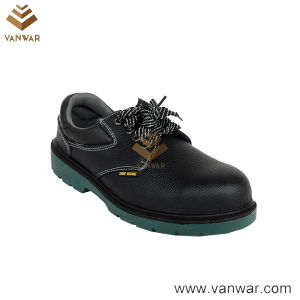 Ce Certificated Black Leather Working Safety Shoes (WSS009) pictures & photos