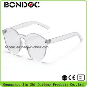 Hot Selling Plastic Rimeless Sunglasses pictures & photos