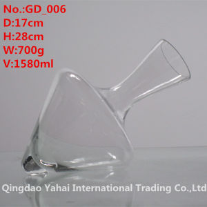 1580ml Clear Colored Glass Decanter pictures & photos