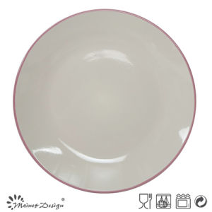 "Stoneware Ceramic 10.5"" Dinner Plate pictures & photos"