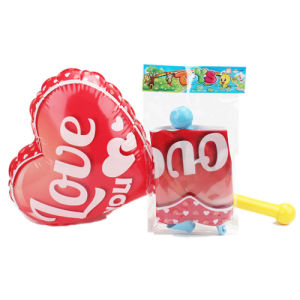 Kids Toys Love Heart Inflatable Toy with Pump (H10216009) pictures & photos