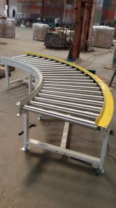90/180 Degree Gravity Curved Roller Conveyor pictures & photos