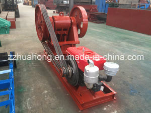 PE250*400 Diesel Engine Stone Jaw Crusher Machine for Sale pictures & photos