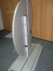 MDF Ear Shape Display Stand pictures & photos