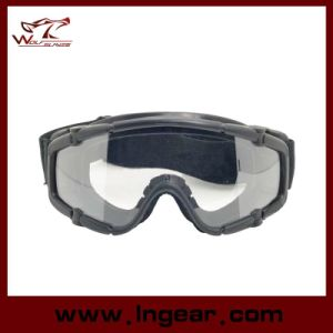 Tactical Airsoft Sport Style Goggle Safety Glasses Without Button pictures & photos