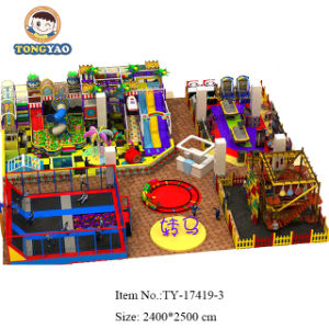 Tongyao Best Design Kids Jungle Indoor Playground Equipment with Ce, TUV Certification (TY-170429-1) pictures & photos