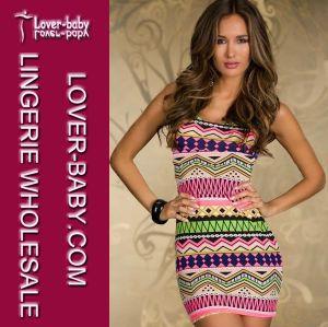 Mini Party Dresses Club Dress for Women (L2739-2) pictures & photos