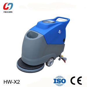 Easy Operated Push Type Floor Scrubber Machine pictures & photos