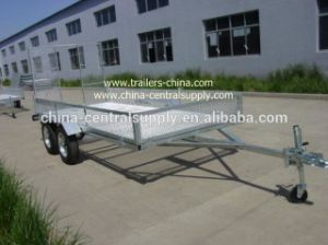 Heavy Duty Factory Made 3.7X1.55m ATV Trailer (CT0090D) pictures & photos