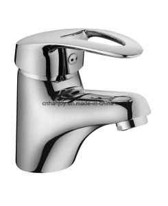 Hot Sale Deck Mounted Single Handle Brass Basin Tap (H10-101) pictures & photos