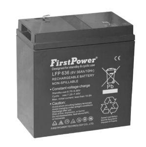 Fire Alarm Battery (LFP636) pictures & photos