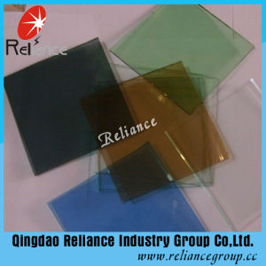 4-8mm Dark Blue/Lake Blue /Bronze /Dark Green Tinted Glass pictures & photos