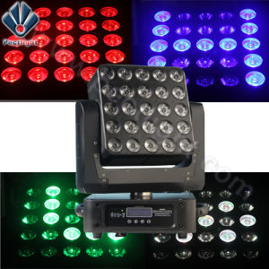 LED Matrix 25*15W RGBW Moving Head Stage Party Light pictures & photos