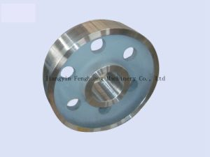 OEM Sheave Casting Alloy Steel Forged Wheel pictures & photos