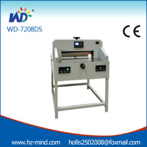 Professional (WD-7208DS) 720mm Precise Small Paper Cutting Machine pictures & photos