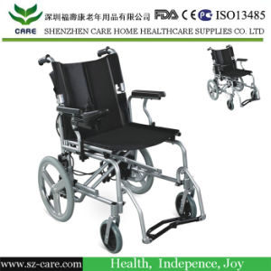 Light Weight Portable Economic Electric Wheelchair pictures & photos