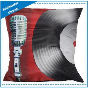 Vinyl Record Printed Polyester Throw Pillow pictures & photos