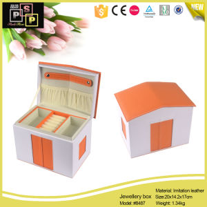Leather Jewelry Paper Box, Custom Jewelry Boxes Packaging, Jewellery Safe Box (8487) pictures & photos