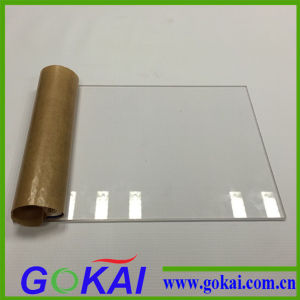 3mm Clear Acrylic Sheet for Process and Cutting pictures & photos