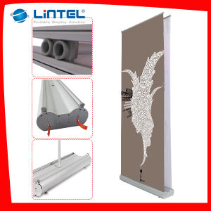 Advertising Roll up Screen Telescopic Banner Display (LT-0T) pictures & photos