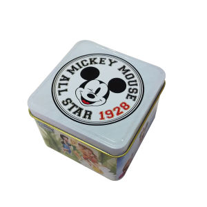 90X90X65mm Square Watch Box Metal Tin Promotion pictures & photos