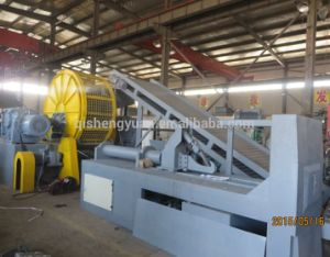 Waste Tyre Crusher / Scrap Rubber Cracker / Tire Shredder Xkp-560 pictures & photos